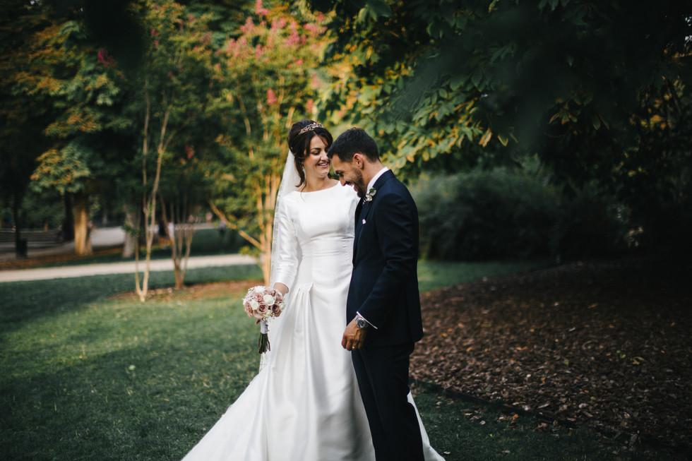 International Wedding at the Palace Hotel, Madrid