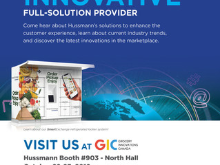 Showcasing Innovation! Fast, Convenient, Certified Refrigerated Locker Technology at GIC Toronto, Oc