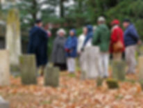 Graveyard History Tour, Old Burying Ground of Essex, Massachusetts