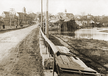 Essex Causeway (circa 1905), Essex, Massachusetts