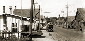 Essex Causeway in 1922, Essex, Massachusetts