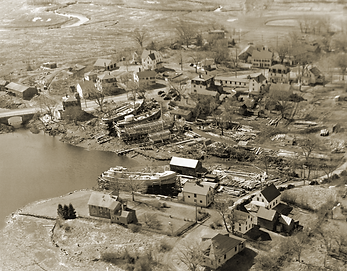 Essex shipyards in 1947, Essex, Massachusetts