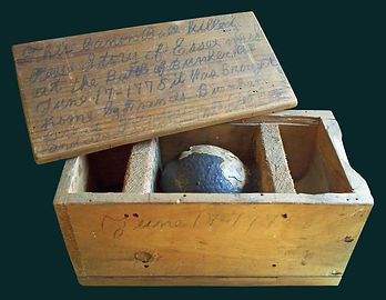 Cannon ball from the Battle of Bunker Hill