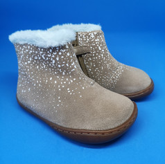 Camper warm lined ankle boots