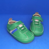 Old Soles Rework prewalker shoes, green
