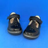 Ricosta Winona t-bar shoes, navy patent