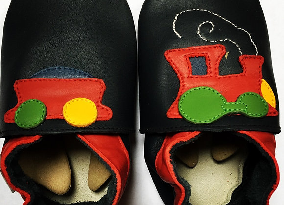 Navy train soft soles