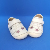 Old Soles Starey Pave, white/pink glitter