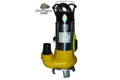 WQ-1100F фекальный насос 1100Вт, Hmax 9, Qmax 333л/м
