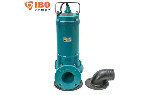 ZWQ 1500 Фекальный насос КНС с измельчителем 1500 Вт, Hmax - 16 м, Qmax - 600л/м