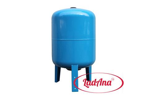 Гидроаккумулятор Ladana 100 литров фланец из нержавеющей стали с манометром