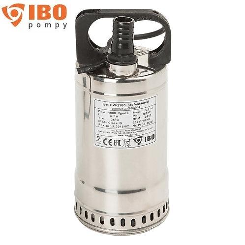 Дренажный насос IBO SWQ 750, 750 Вт, Hmax - 18 м, Qmax - 220 л/мин. корпус нерж.