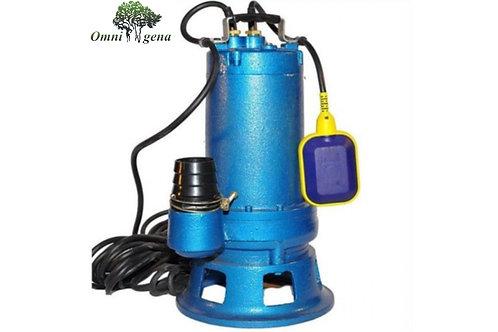 WQ 10-10-0,75 фекальный насос с измельчителем 750Вт, Hmax 10м, Qmax 220л/м