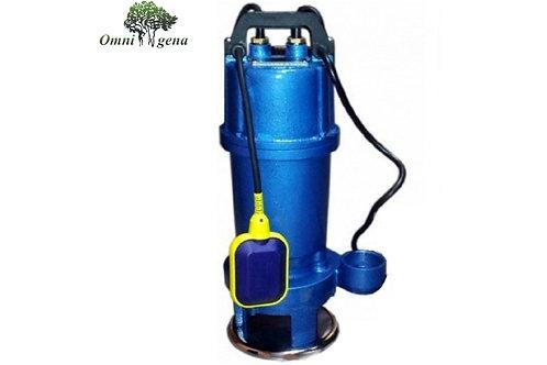 WQ 15-7-1,1 фекальный насос с измельчителем 1100Вт, Hmax 18м, Qmax 320л/м