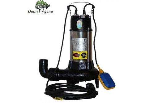 WQ 1300 Furia Фекальный насос с измельчителем 1300Вт, Hmax 12м, 300л/м