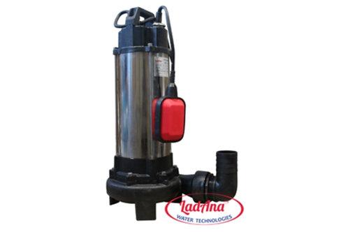 VSm 1300DF Фекальный насос с измельчителем 1300Вт, Hmax 10,5м, Qmax 291л/м