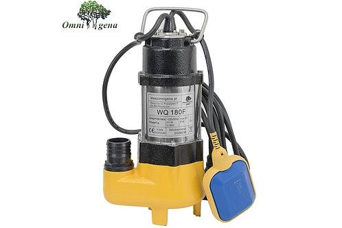 WQ-180F фекальный насос 180Вт, Hmax 7м, Qmax 130л/м