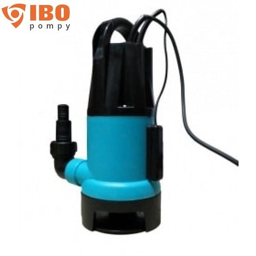 Дренажный насос IBO IPE 400, 400 Вт, Hmax - 5 м, Qmax - 125 л/мин.