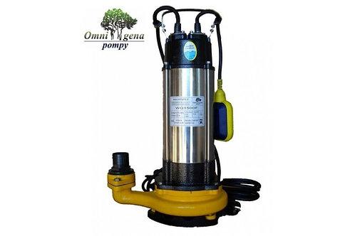 WQ-1500F фекальный насос 150Вт, Hmax 22, Qmax 270л/м