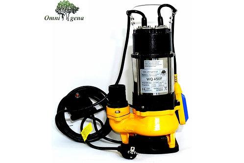 WQ-450F фекальный насос 450Вт, Hmax 8,5м, Qmax 200л/м