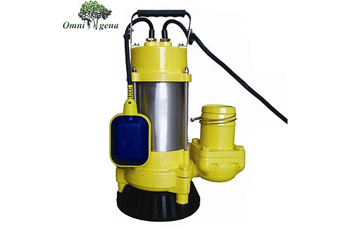 WQ 18-18-0.75 professional фекальный насос 750Вт, Hmax 18м, Qmax 290л/м