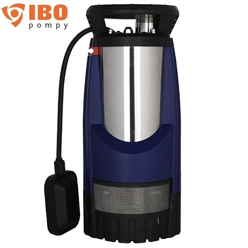 Дренажный насос IBO MULTI IP 1200 INOX, 1000 Вт, Hmax - 44 м, Qmax - 100 л