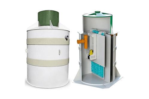 Станция биоочистки БИО-С Комфорт 15 до 15 чел. 3000л/сут. самотечное отведение