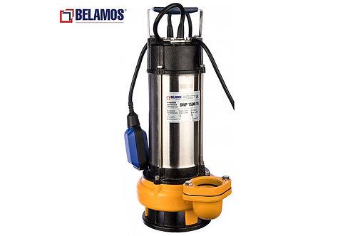 Дренажный насос Belamos DWP 1500/22, 1500/22 ПРОФ, 270 л/мин, Н-22 м, каб.10 м