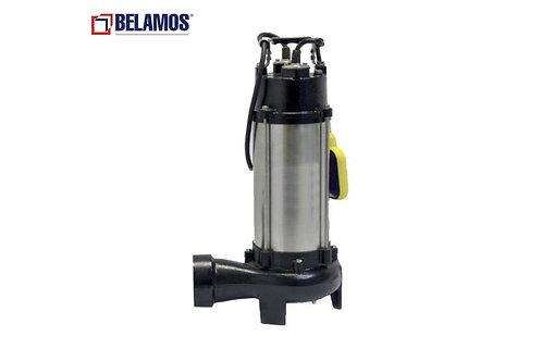 Фекальный насос Belamos DWP 1300CS с измельчителем 1300Вт, Hmax 12м, Qmax 300л/м