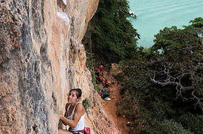 Esther Foster, lake district rock climbing instructor, mountaineering instructor