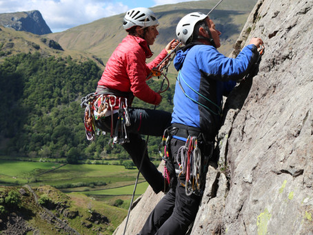 Lead Climbing - top tips for starting out