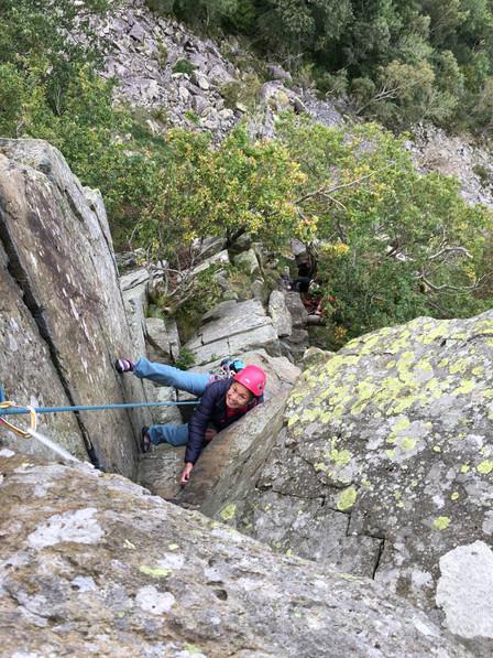 Little Chamonix, Shepherds Crag