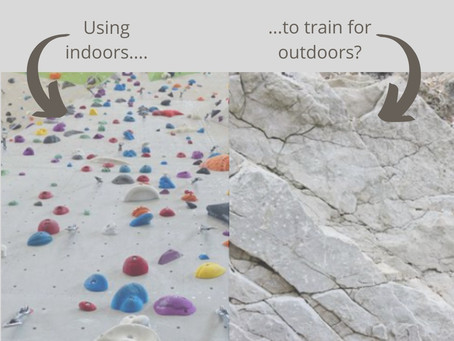 How to: use indoor walls to improve your outdoor climbing - Part One