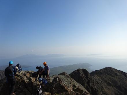 Guiding on the Cuillin Ridge, Skye