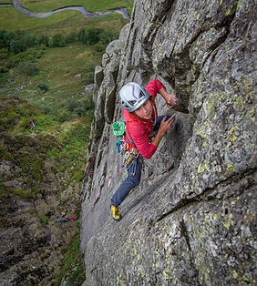 Rock Climbing Instructor Lake District