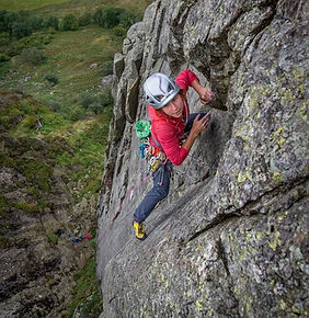 Rock Climbing Instructor Lake District