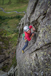 Bloodhound E2, Gouther Crag, Lake District