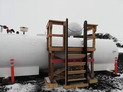 Fuel Drum Platform
