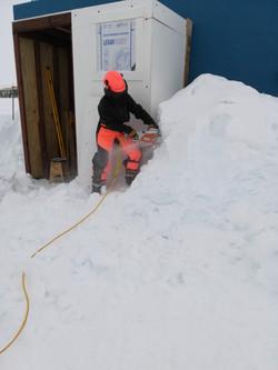 Ice Chain Saw