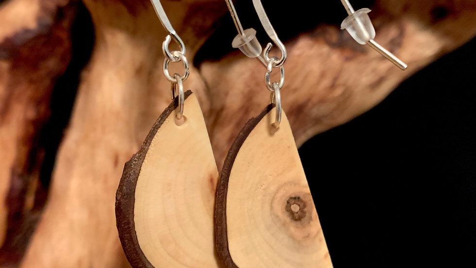 Maple Wooden Earrings