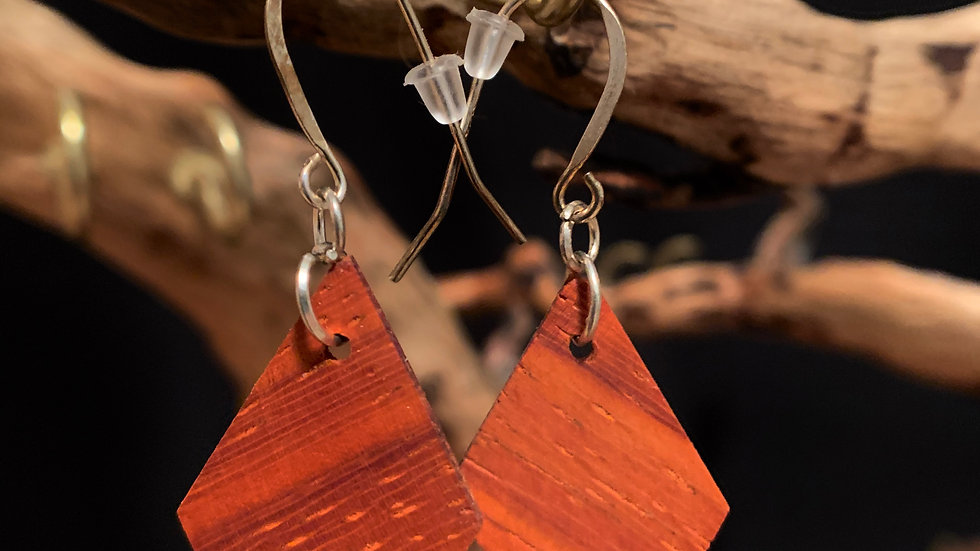 Padouk Wooden Daimonds