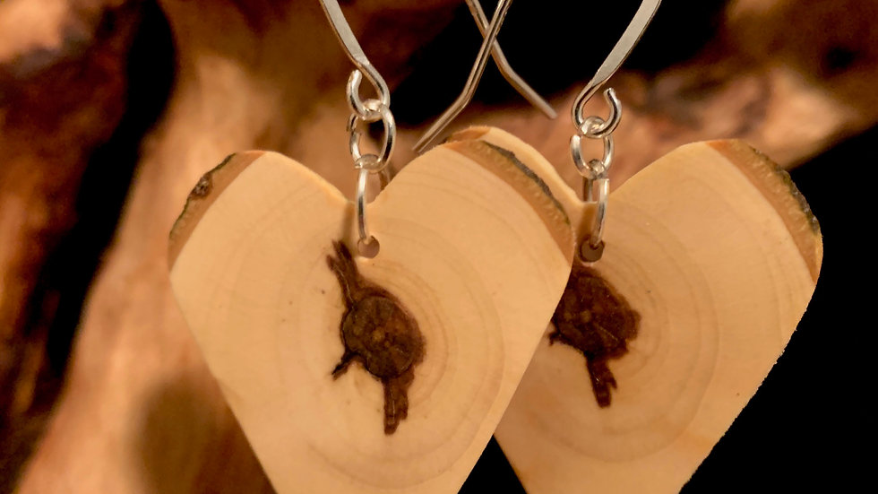 Natural Maple Wooden Hearts