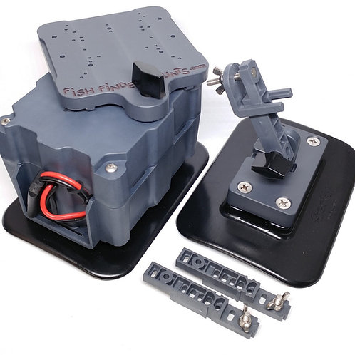 """5ah 4.5 Glue-On Boat Mount Kit - up to 5"""" screens"""