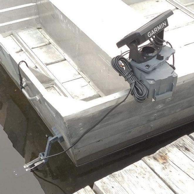 15mm Magnetic Transducer Mount Kit | fishfindermounts2