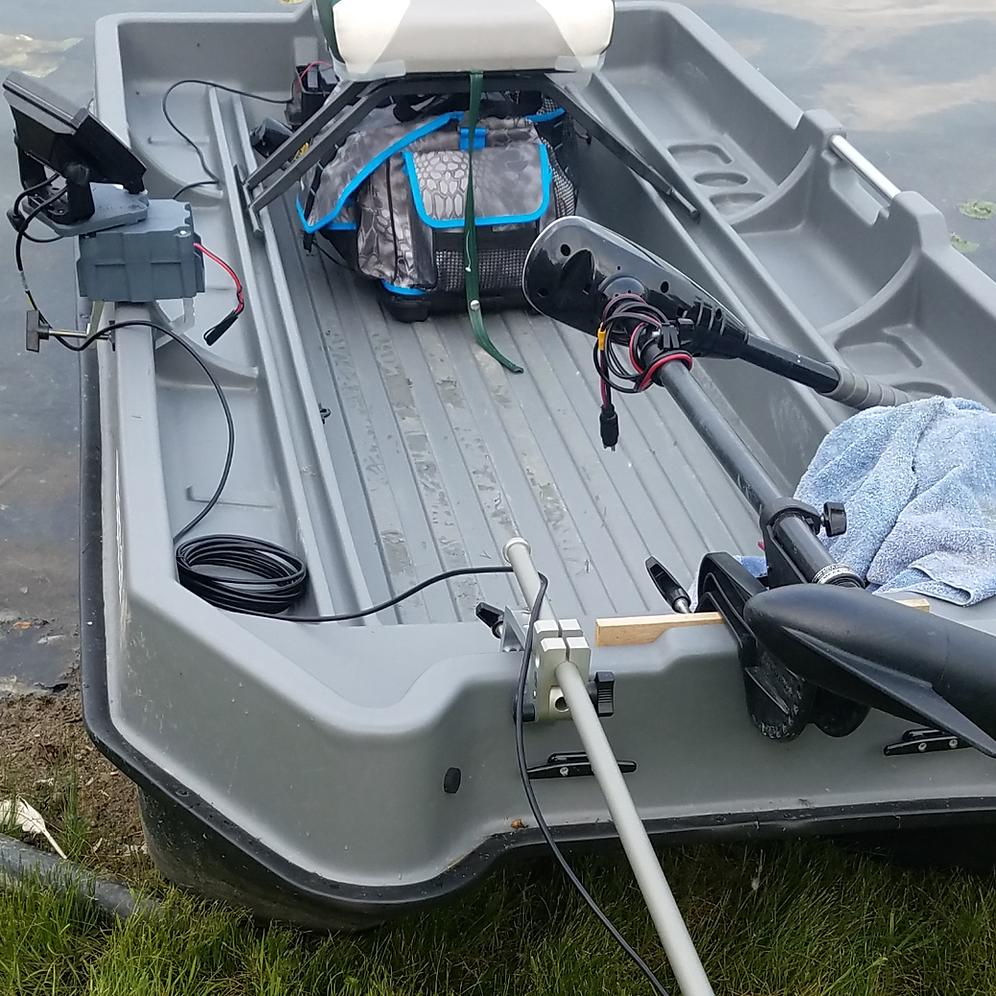 Transducer Clamping Pole-Arm Mount | fishfindermounts2