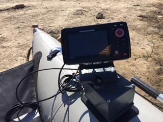 Sea Eagle fish finder mount