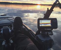 Helix 5 on Native Slayer Kayak