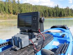 Garmin Echomap 73 kayak mount