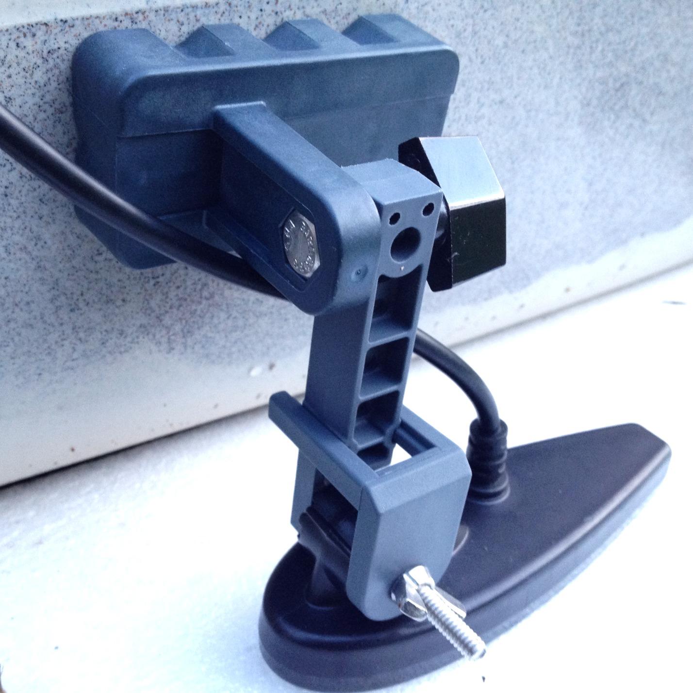 Magnetic transducer mount