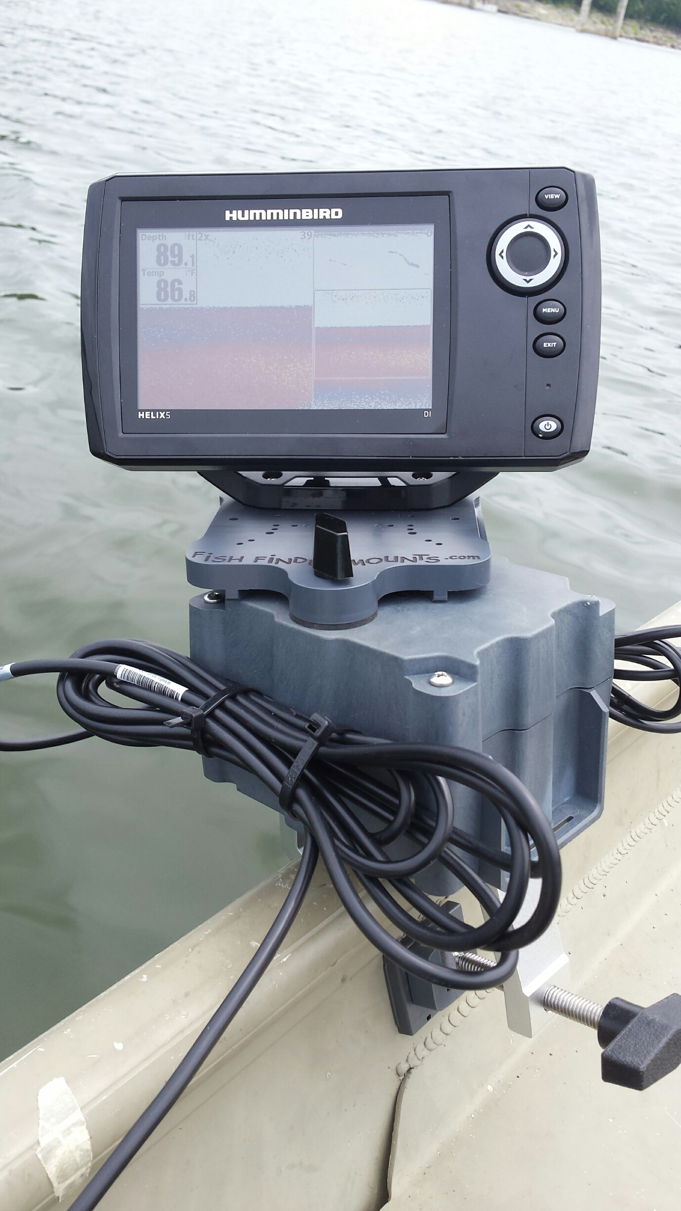 Jon Boat Fish Finder Mount